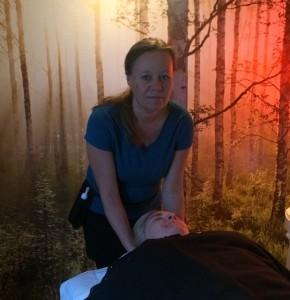 Massage-i-skoven